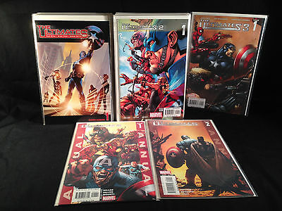 The Ultimates 1-13, Ult. 2 1-13, Ann. 1, 2, Ult. 3 #1 -TWO Complete Series! NM!