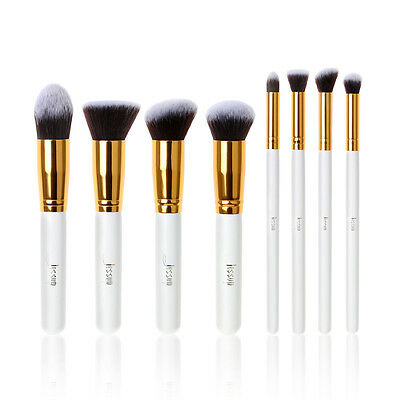 Jessup Cosmetics Foundation Blending Premium Synthetic Kabuki Makeup Brushes Set