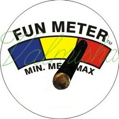 Fun Meter Button for party or any occasion. you can adjust Pointer
