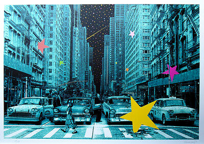 ROAMCOUCH When you wish upon a star NYC ed.50 | Urban art, street art print