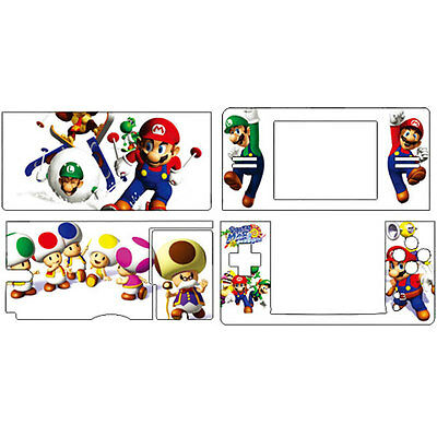 SUPER MARIO decal Skin Sticker Cover for Nintendo DS Lite for NDSL sticker s1-18