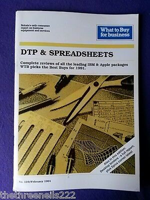 What To Buy For Business #119 - Spreadsheets - Feb 1991