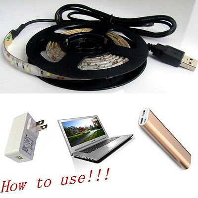 New Decoration Waterproof Superbright Led Strip Light Lamp With USB Cable 5V
