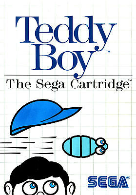 A4 Sega Master System Game Poster – Teddy Boy (Picture Print Gaming Art)