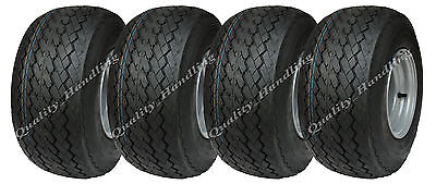 4 - 18x8.50-8 4ply golf cart / buggy wheels, tyre on rim