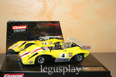 Slot car SCX Scalextric Carrera 27351 Evolution Lola T222 Orwell SuperSports Cup