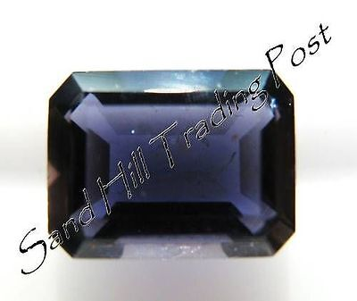 Natural 5x3 Loose Emerald Cut .28ct Iolite AAA Quality