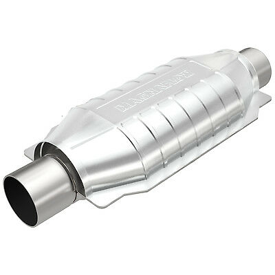 """Magnaflow 99005HM Weld-On High-Flow Catalytic Converter Oval 2.25"""" In/Out OBDII"""
