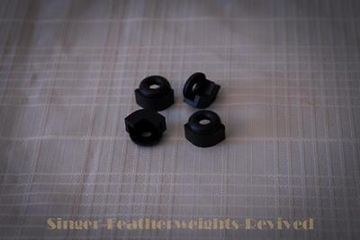 Singer Featherweight Foot Control Rubber Cushions -- 221 - 222 - 221K - 301
