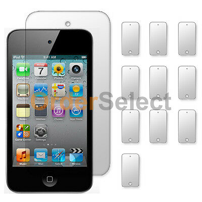 10X NEW Ultra Clear HD LCD Screen  Protector for Apple iPod Touch 4 4th Gen HOT!