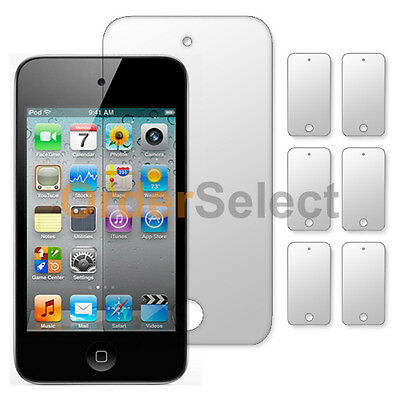 6X NEW Ultra Clear HD LCD Screen  Protector for Apple iPod Touch 4 4th Gen HOT!