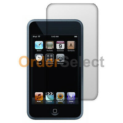 New Clear LCD Screen Shield Guard Protector for Apple iPod Touch 2 3 2nd 3rd Gen