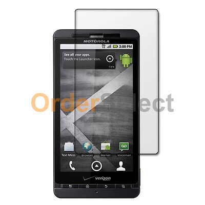 Clear LCD Screen Shield Protector for Android Verizon Motorola Droid X X2 MB870
