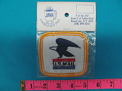** 1 RARE VINTAGE U.S. MAIL CARRIER EMPLOYEE PATCH MIP EAGLE POSTAL  **