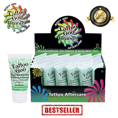 24 x TATTOO GOO AFTERCARE SOAP for HEALING AND PROTECTION - WHOLESALE - SHOP