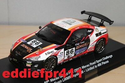 1/43 2013 Toyota 86 Coupe Team Lwmr Macau Grand Prix Kyosho J Collection Racing
