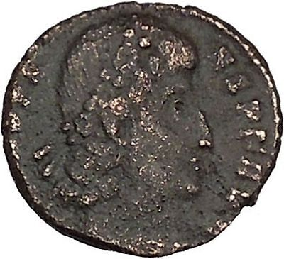 Constans  Constantine the Great son Ancient Roman Coin Glory of Army i42607