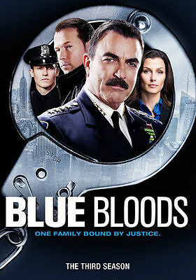 Blue Bloods: The Third Season (DVD, 2013, 6-Disc Set) Free Shipping !!
