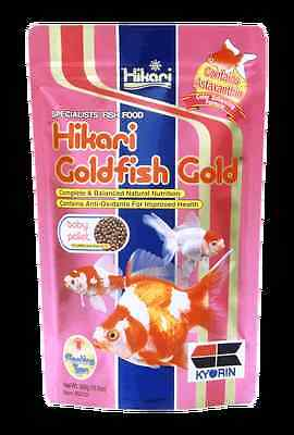 Hikari Goldfish Gold 100g - Color Enhancing Floating Baby Pellet