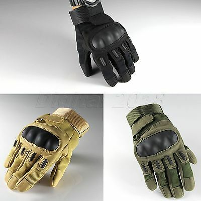 Tactical Military Airsoft Shooting Outdoor Motorcycle Armed Full Finger Gloves
