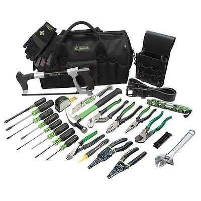 GREENLEE 0159-11 Electricians Tool Set, 28-Piece