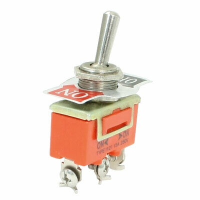 AC250V 15A ON/ON SPDT 3 Screw Terminals Toggle Switch