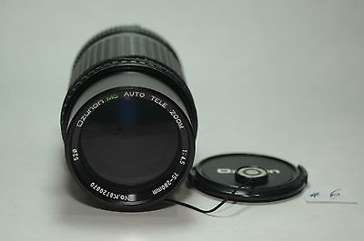 OZUNON 75-200MM F4.5 MC AUTO TELE ZOOM LENS FOR MINOLTA