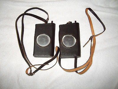 Vintage PAIR OF WEBCOR MICRO 350 WALKIE TALKIE TRANCEIVERS W/ CASES, EXCELLENT