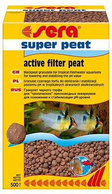 Sera super peat 500g Natural tropic black water