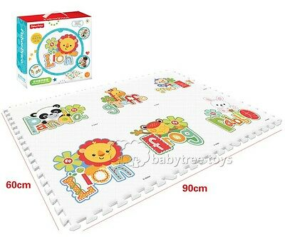 NEW Fisher Price Rainforest Floor Mat Baby Kids Foam Puzzle Play Mat