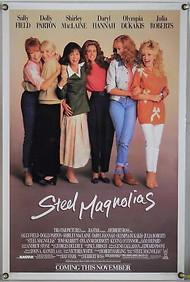 Steel Magnolias Rolled Orig 1Sh Movie Poster Julia Roberts Daryl Hannah (1989)