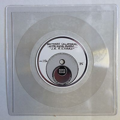 """Brothers Collateral W/ King Buzzo Lathe Cut Flexi 7"""" J.R. Richard xx/85 Melvins"""