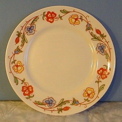 RARE! Mint Franciscan China SHASTA FLOWERED DESIGN SMALL PLATE 6 1/4""