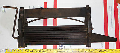 """Antique Wood Laundry Wringer With 3 16"""" All Wood Rollers"""