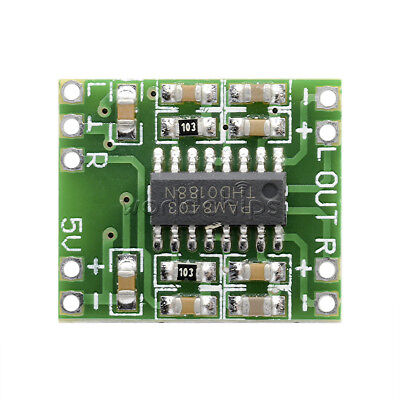 5pcs DC 5V Amplifier Board Class D 2*3W USB Power Mini PAM8403 Audio Module