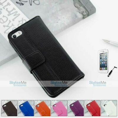 Leather Wallet Case Cover For Apple Iphone 5 5S 5C 6  6 Plus