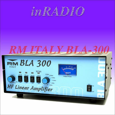 RM ITALY BLA-300 - 1.5 - 30 MHz 300W HIGH-QUALITY POWER AMPLIFIER FREE DELIVERY!