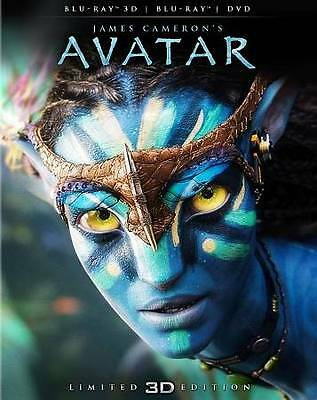 Avatar (Blu-ray/DVD, 2012, 2-Disc Set, Limited Edition; 2D/3D)