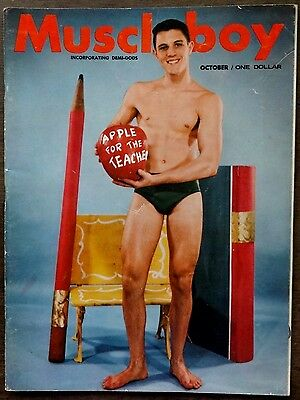 MUSCLE BOY vintage Beefcake Gay interest magazine Vol 1 #3 Oct 1963