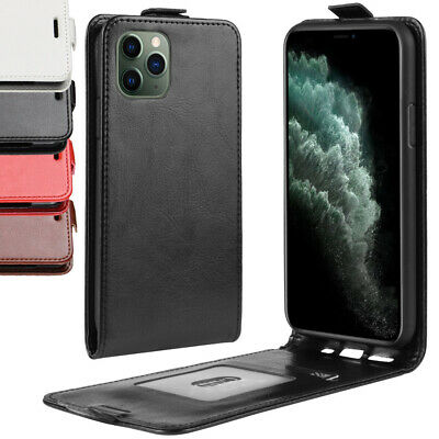 iPhone 8 8 Plus 7 6S 5S 4S Case for Apple -Genuine Leather Flip Cover
