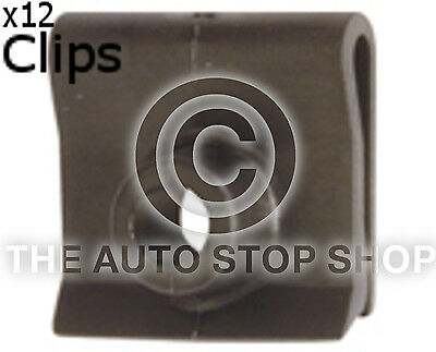 Clips Mat To Fit Nissan Range 11775 Pack of 12 Pulsar Part Number 100 NX