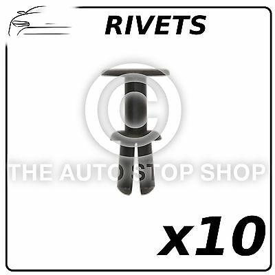Clips Plastic Rivets 8 MM BMW X3//BMW X5//BMW X6 Part Number 12683 Pack of 8