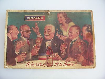 Old advertising poster. Ancienne affiche publicitaire original