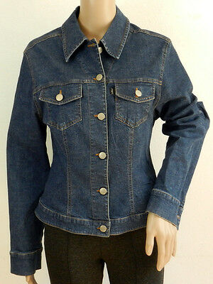 IN WEAR JEANS Jacke Gr. 40 Damen Blau Jacket Denim Jeans