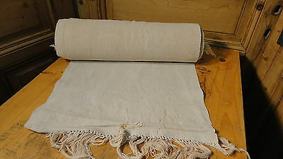 Homespun Linen Hemp/Flax Yardage 20 Yards x 19'' Plain  #5607