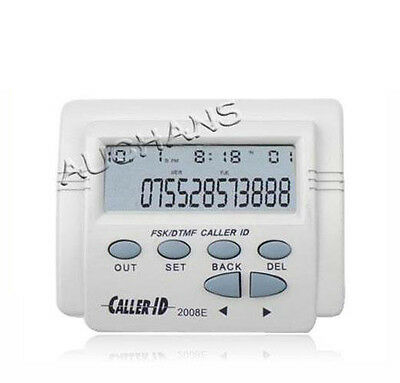 Caller ID Box CID-2008E FSK/ DTMF AND Mobile Phone LCD Display