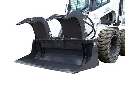 "Skid Steer FFC 82"" Scrap Grapple - Commercial Grade"