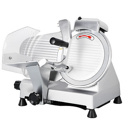 "NEW Commercial 240w Electric Meat Slicer 10"" blade high-efficiency CE approved"