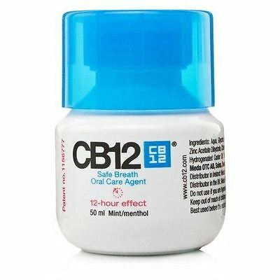 CB12 Mint Safe Breath Oral Care Agent 50ml Travel Pack