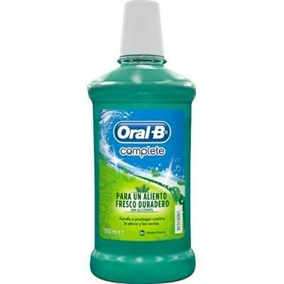 Oral-B Enjuague Bucal 500Ml Complete / Elixir / Colutorio # Mouthwash
